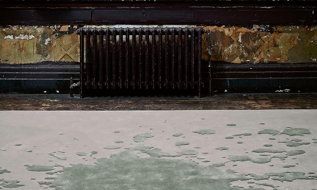 JAB ANSTOERTZ Flooring red thread splash